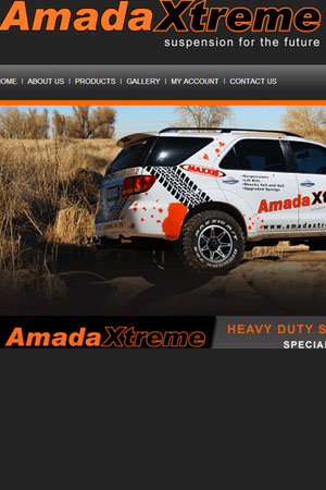 Amada xtreme Website by Thabo Balm Dintwa