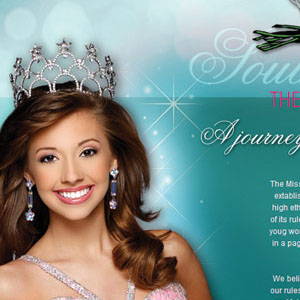 Miss teen South Africa Website by Citizen Design