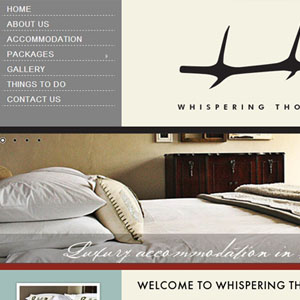 Hunting in South Africa Website by Citizen Design