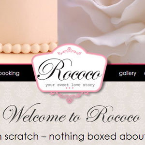 Rocco Cakes Website by Citizen Design